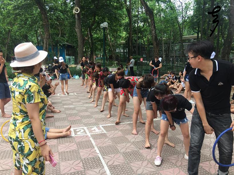 Tanabata Hà Nội đi picnic tại công viên Thủ Lệ