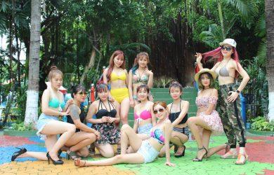 Tanabata Hồ Chí Minh đi picnic tại công viên nước Đầm Sen