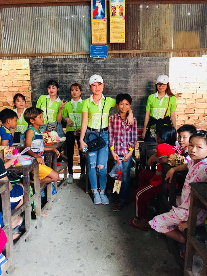 làng chài nghèo Cambodia