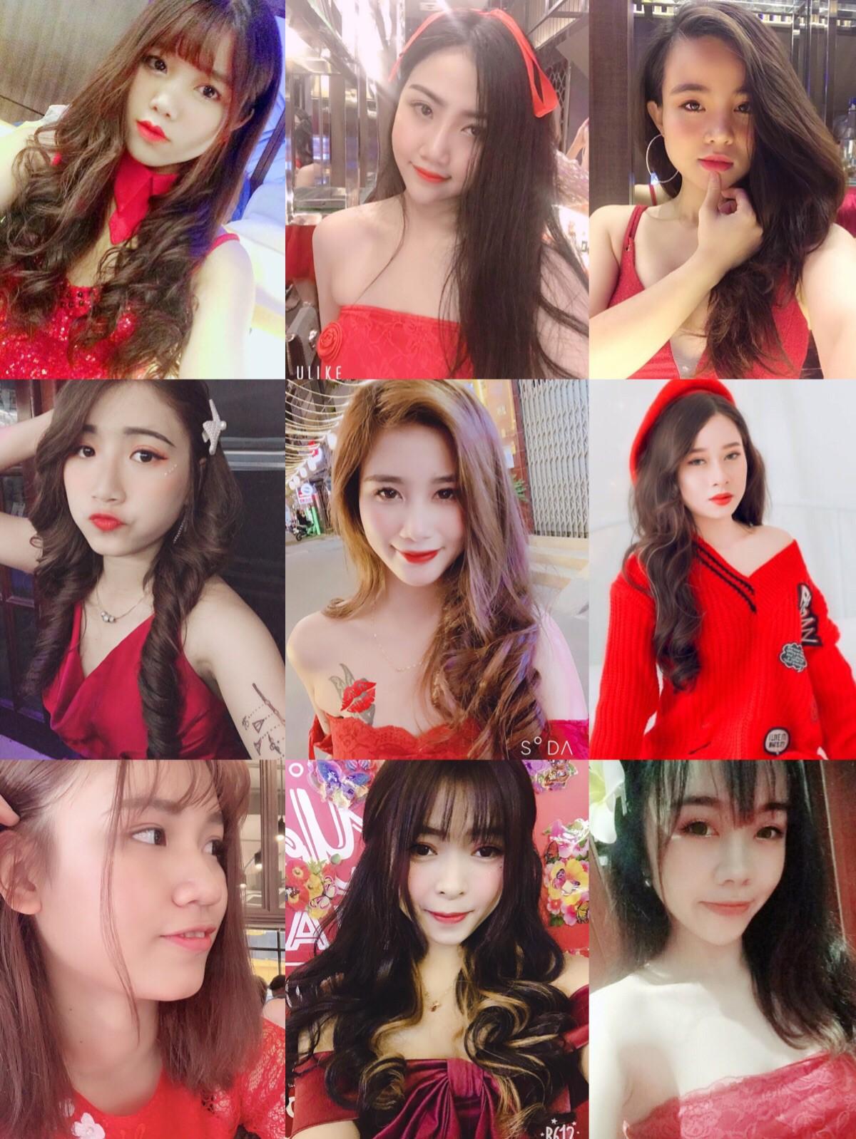 Những cô gái xinh đẹp