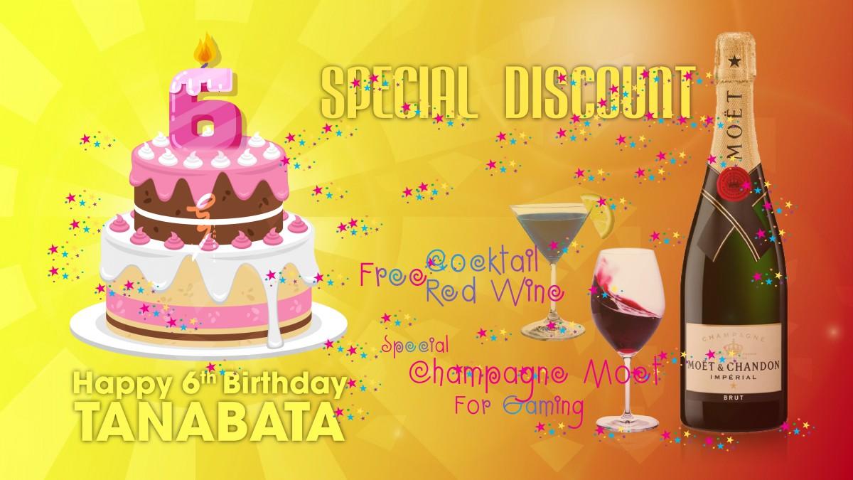 Sinh nhật Tanabata lần thứ 6