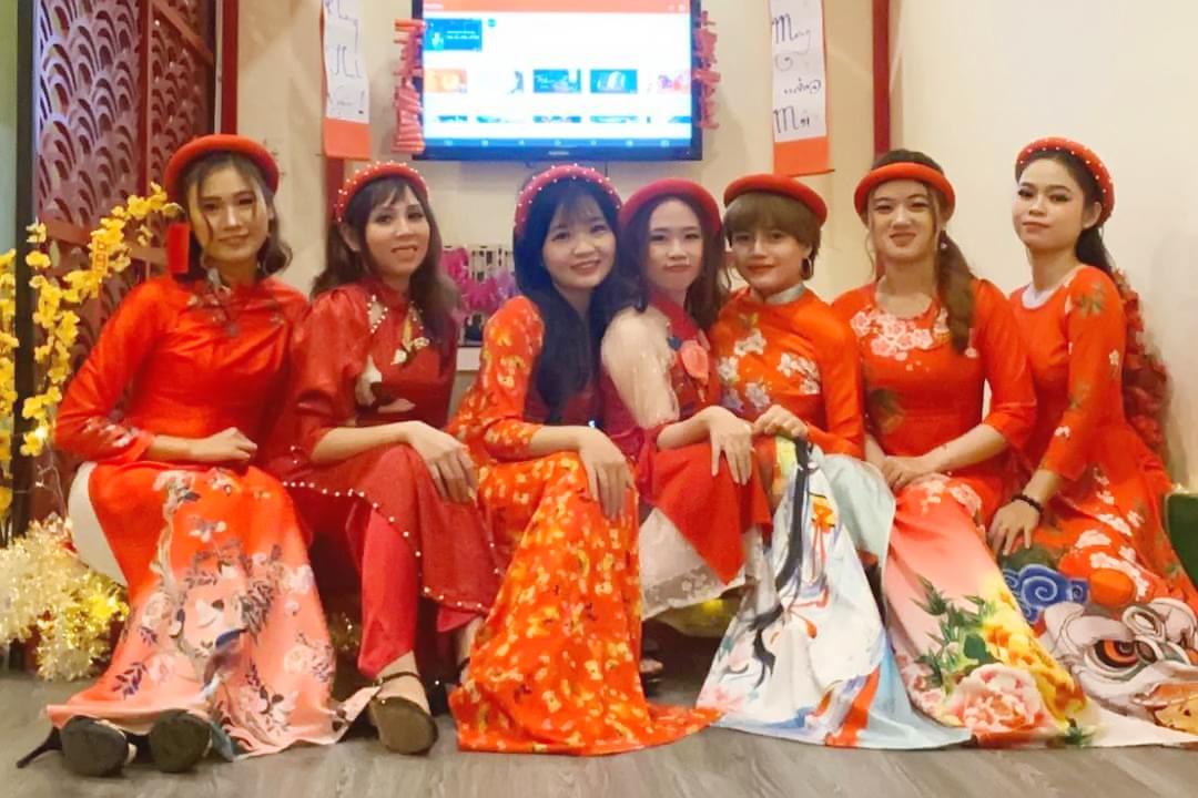 chào đón năm mới 2020 tại Tanabata