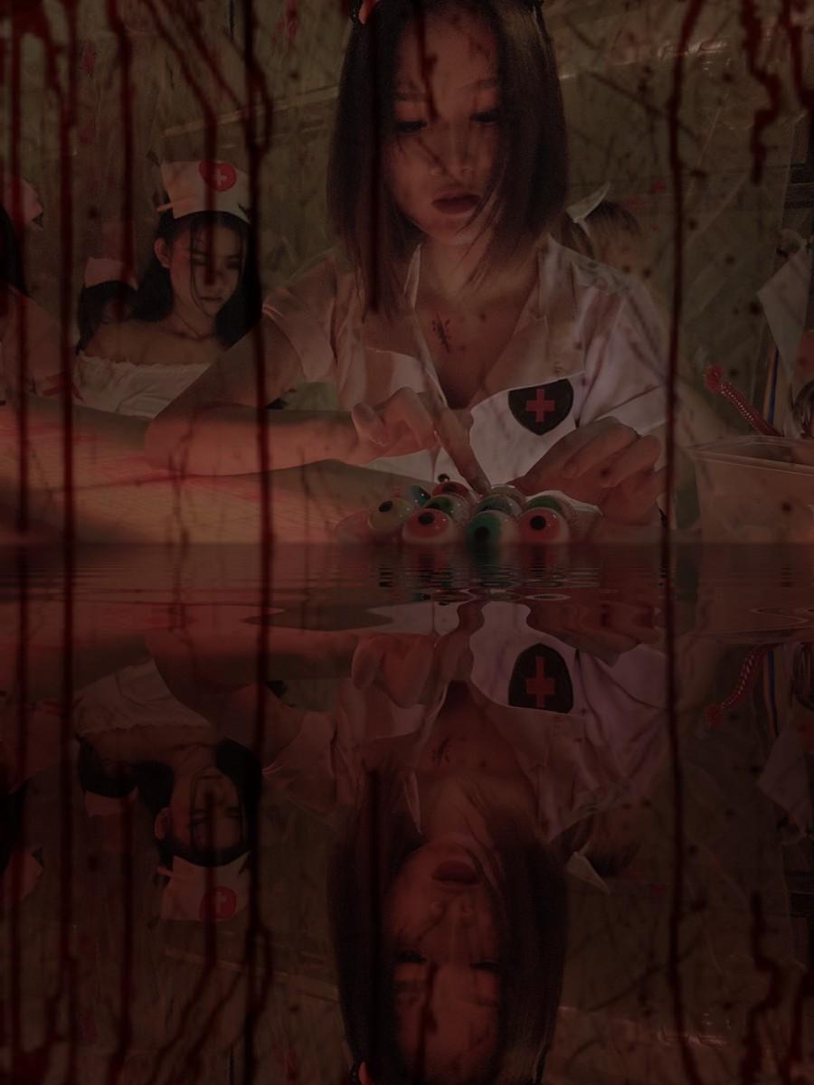 Hình ảnh trang trí đếm Halloween tại Tanabata